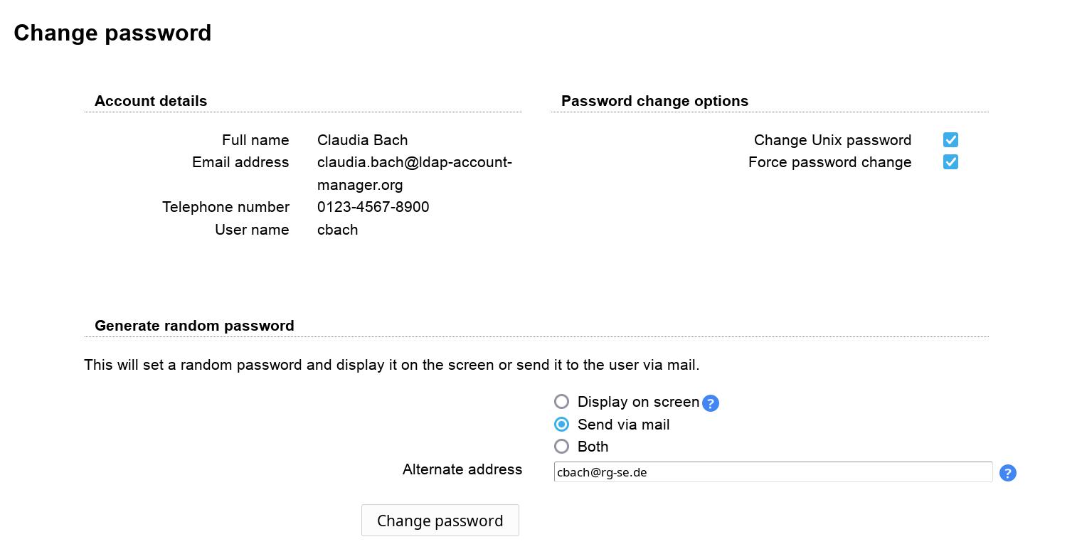 LDAP Account Manager Pro | LDAP Account Manager
